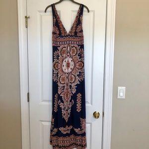 Akualani Boho Maxi Dress